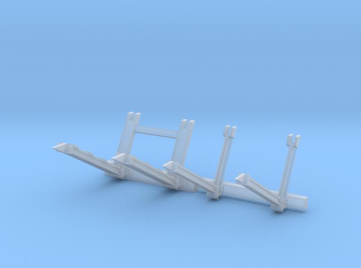 NL stootjuk en NL stootjuk verzwaard h0 3d printed