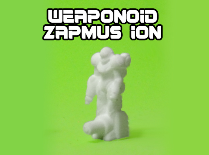 Zapmus Ion Transforming Weaponoid Kit (5mm) 3d printed WS&F robot mode