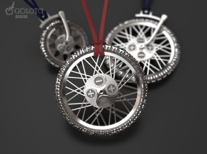 Ebiker Rotate Pendant small 3d printed