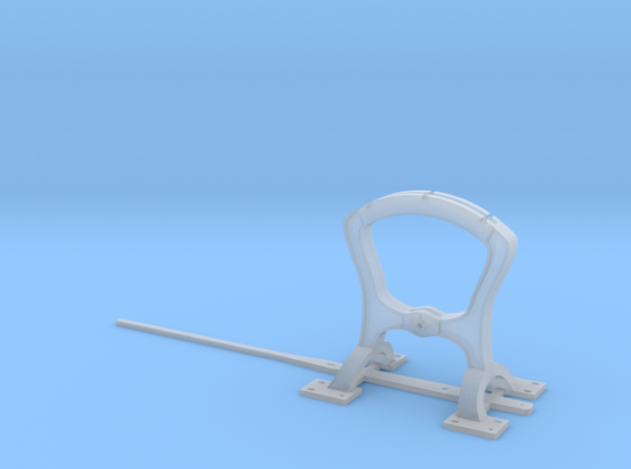 Harp Switch Stand - Arc top, O Scale 3d printed