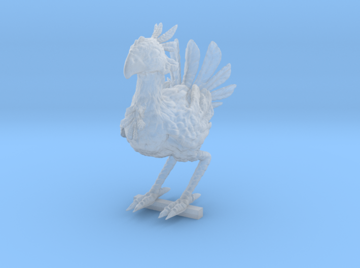 CHOCOBO REWORKED / PEG STAND 3d printed