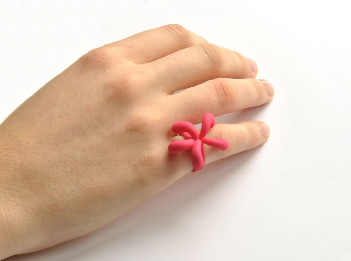 Water Drops Ring (From $19) 3d printed Water Drops Ring