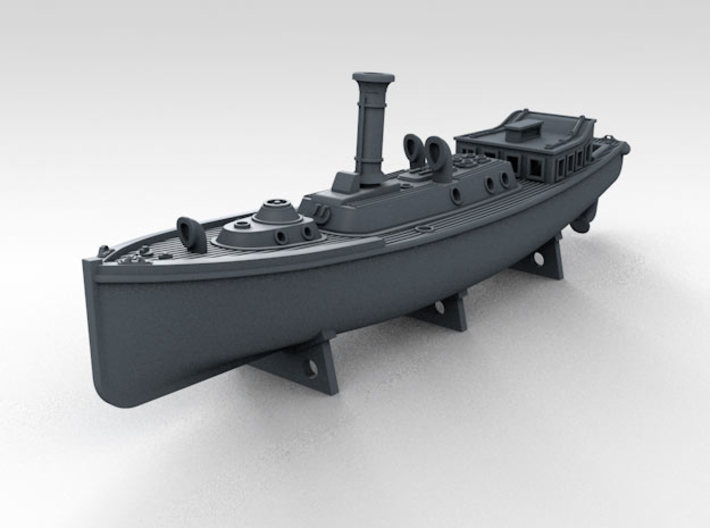 1/350 WW2 RN Boat Set 4 Without Mounts 3d printed 50ft Steam Pinnace Mount NOT included
