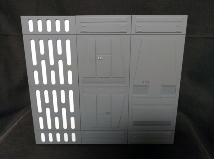 PRHI Space Walls Connector Type A 4x 3d printed