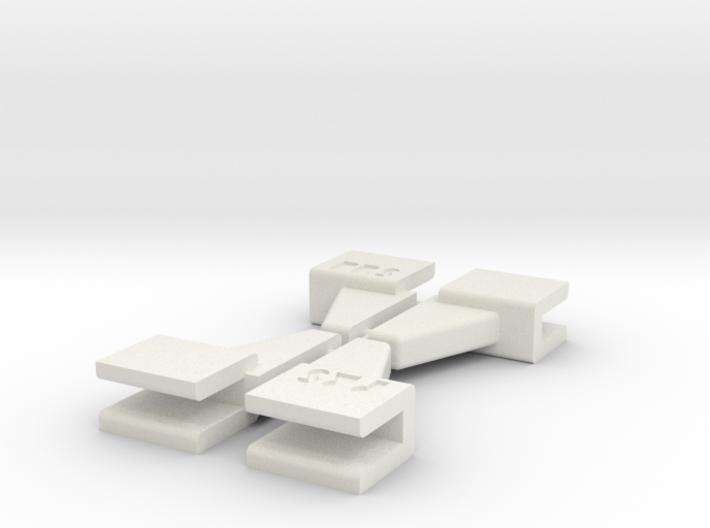 PRHI Space Walls Connector Type C 4x 3d printed