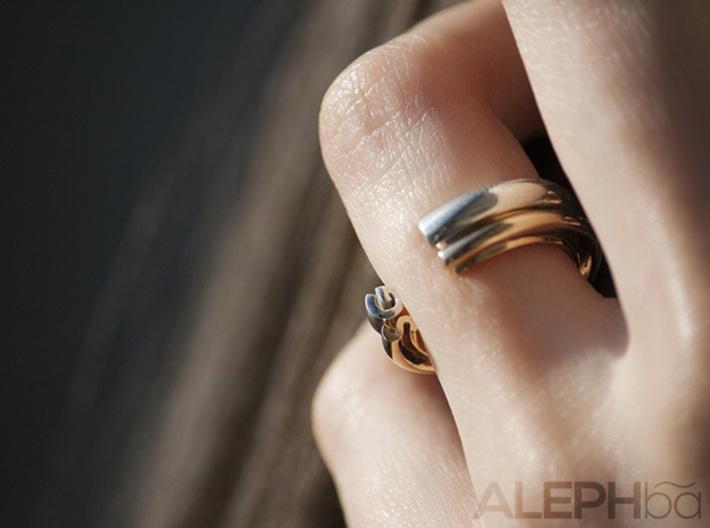 R Ring 3d printed
