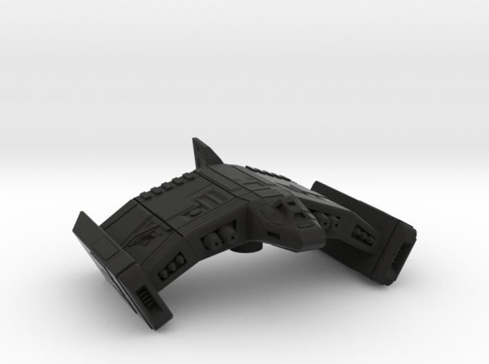 Swooping Bat 3d printed