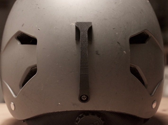 Goggle Clip - compatible with Bern Helmets 3d printed lower mount position