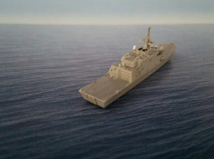 1/2000 USS Freedom 3d printed painted