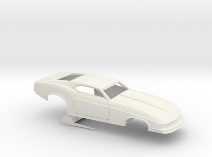1/12 1970 Pro Mod Mustang No Scoop 3d printed