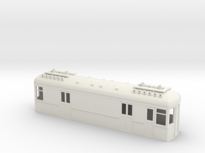 On30 Gas Electric Boxcab long 3d printed