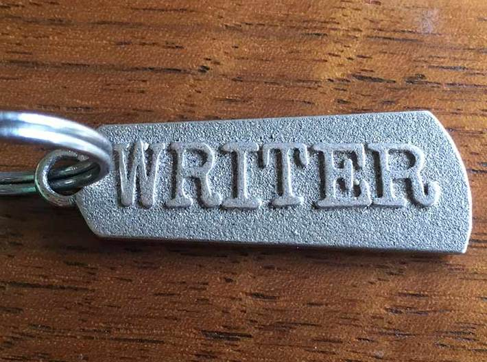 Mighty Writer (2-sided pendant) 3d printed