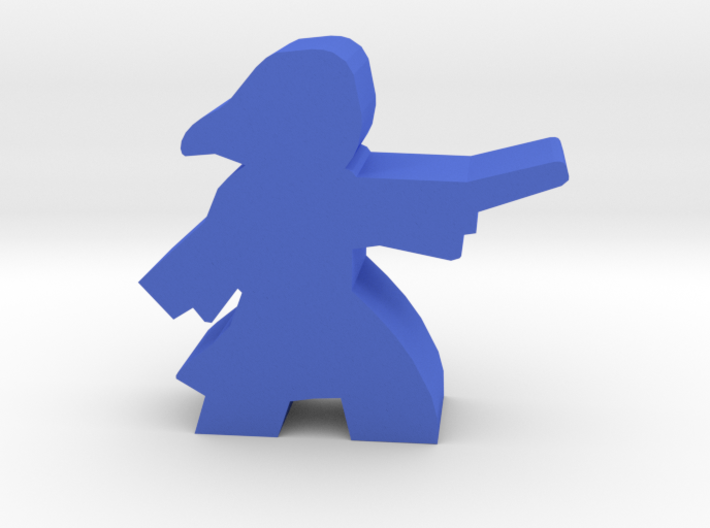 Game Piece, Student Witch in robes 3d printed