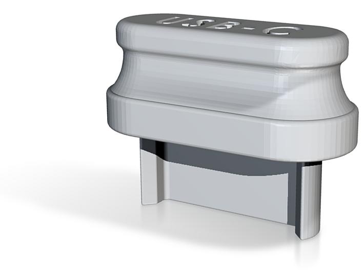 USB-C Grip Cover 3d printed