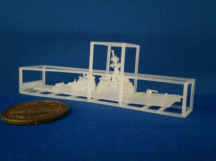 1/2000 USS John Paul Jones 3d printed