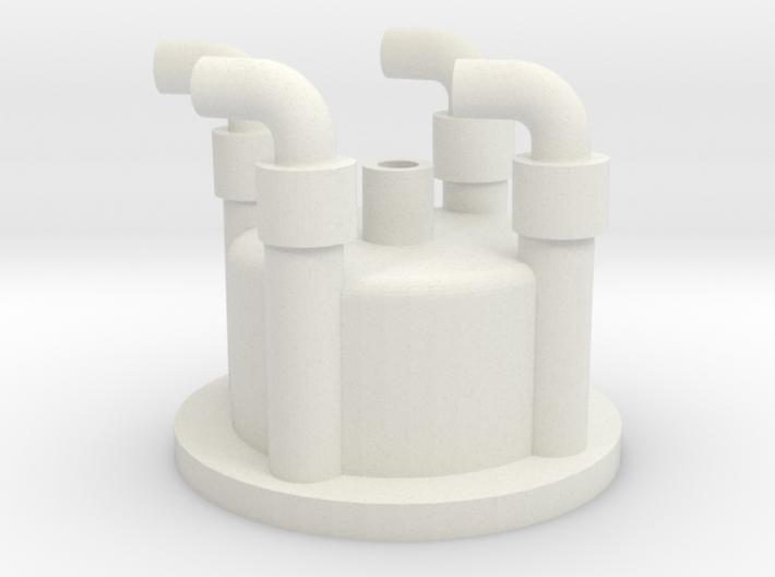 1:6 scale distributor cap 3d printed