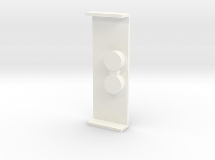 CMAX+D110 Raffee Rear Floor Cover 3d printed