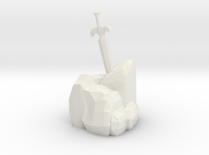 Sword In The Stone 3d printed