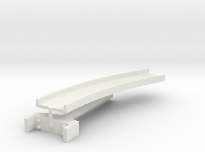 T-gauge curved bridge 158 mm 3d printed