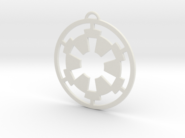 Imperial Pendant 3d printed