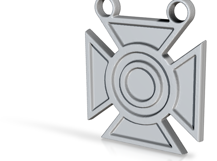 Army Sharpshooter Medal Pendant 3d printed