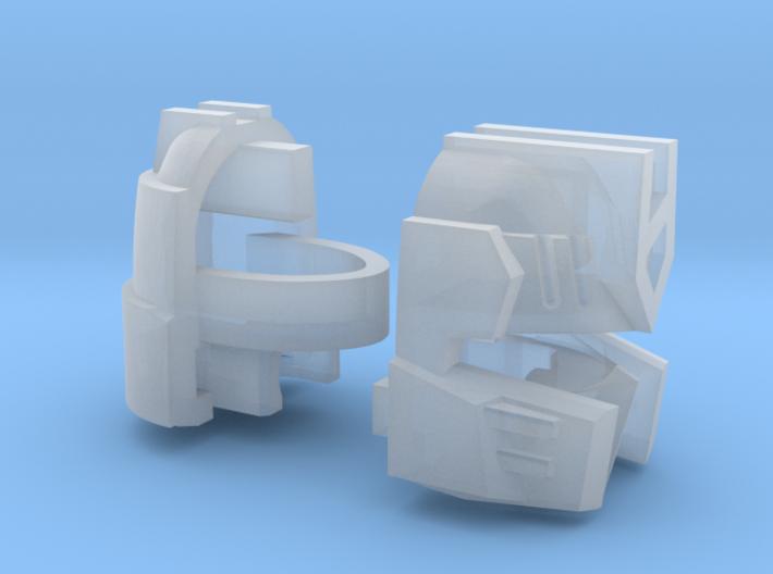 Rodo King Head Combiner Version 3d printed