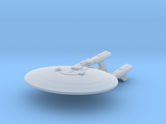Galaxy Class Refit 1/8560 Attack Wing 3d printed