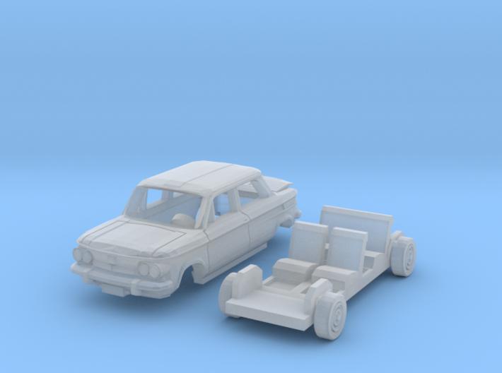 NSU TT (N 1:160) 3d printed