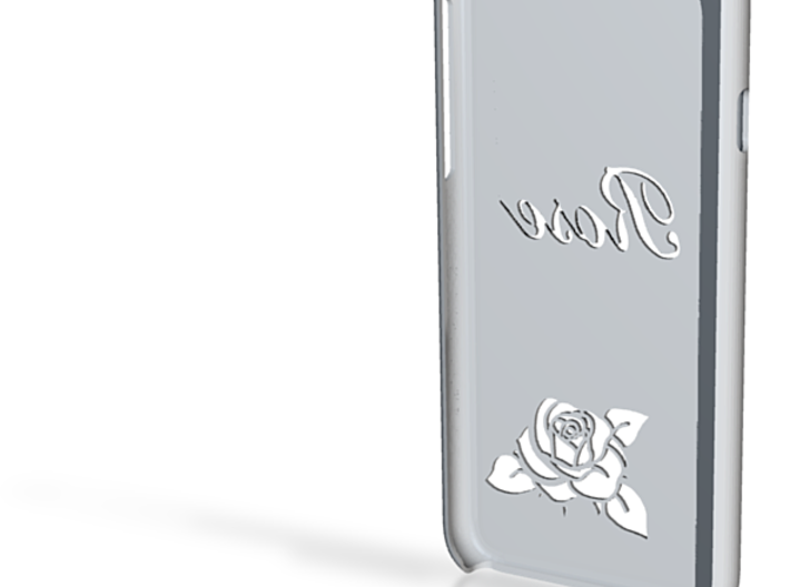 "IPhone 6 Case ""ROSE"" 3d printed"
