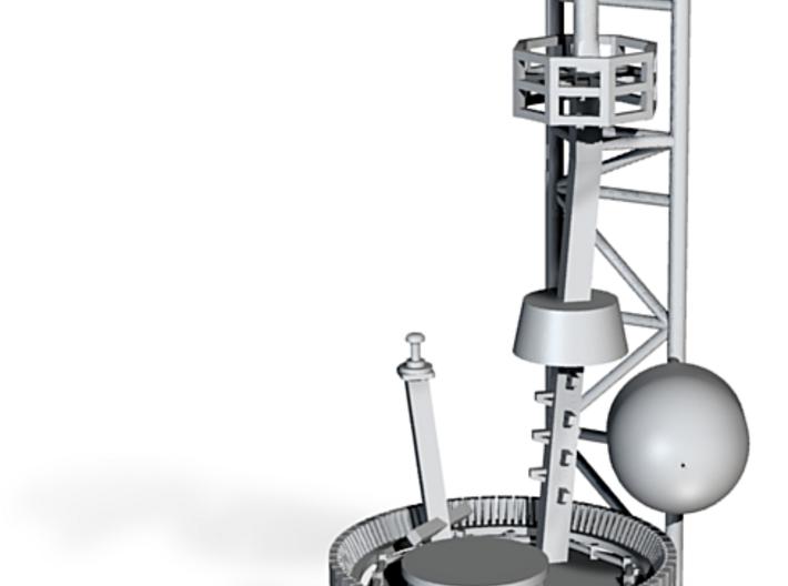 1/144 scale Burke Detail's - Mast Top Version 2 3d printed