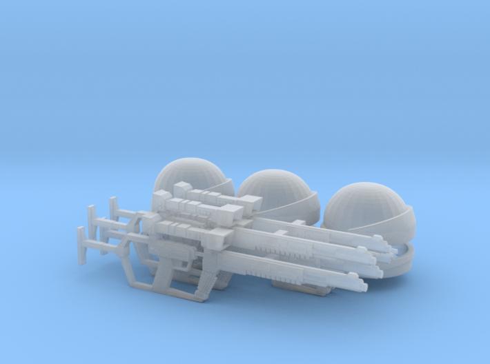 Shock Trooper Squad (V, The Visitors), 1/9 3d printed