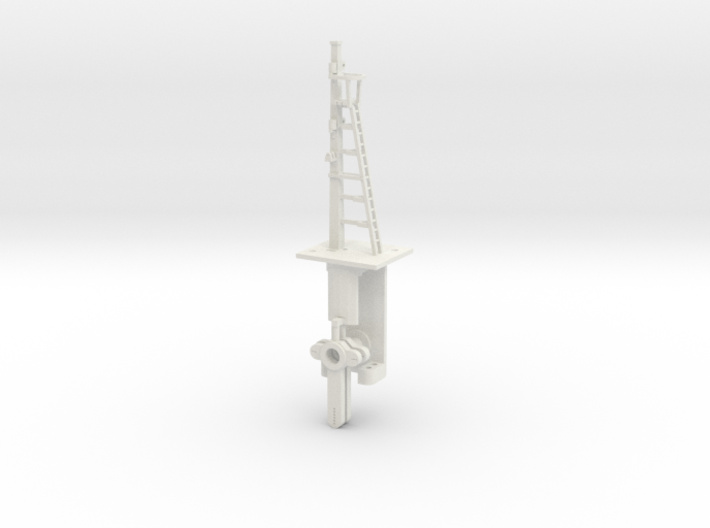 Signal 18 Ft Post 2 Arms HO NSWGR LQ 3d printed