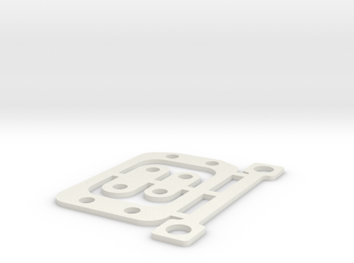 RC10B6 1mm Gear Box Spacer Set 3d printed