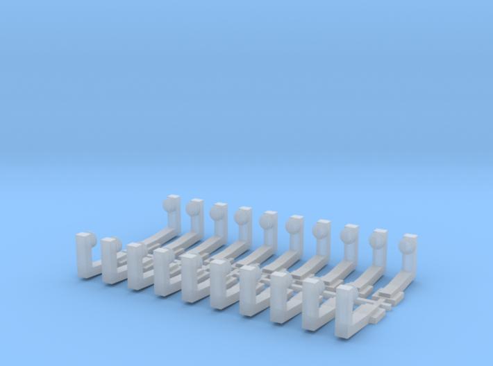 Stromschienenhalter 1984 (Code83) 3d printed