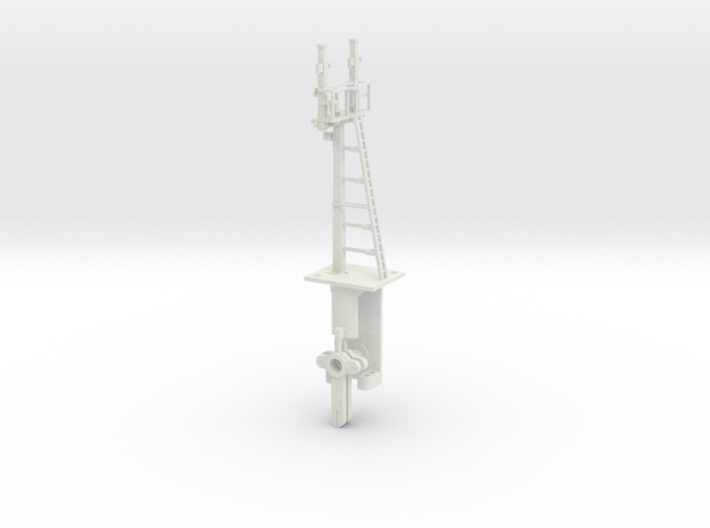 Mid-Bracket Signal Even Height Dolls HO NSWGR LQ 3d printed