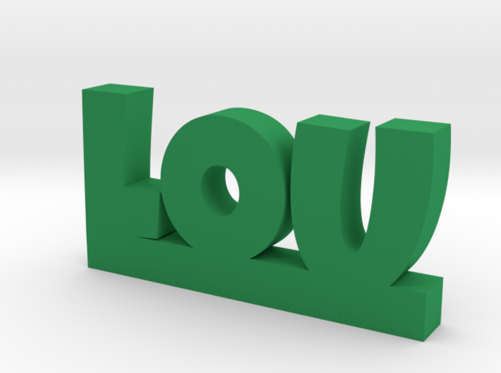 LOU Lucky 3d printed