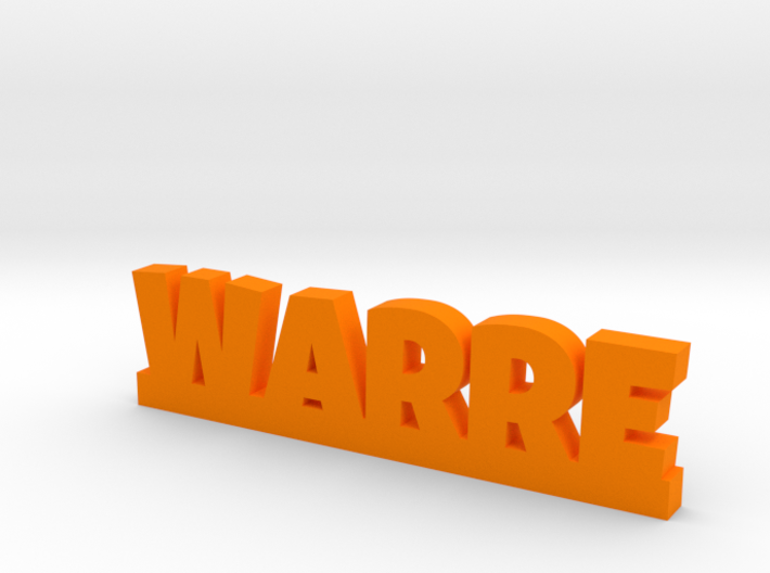WARRE Lucky 3d printed