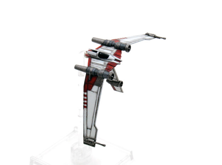 V19 Torrent B-wing style mount-3pack 1/270 3d printed