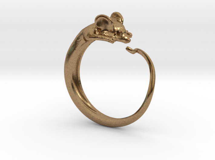 Mouse ring multi-size 3d printed