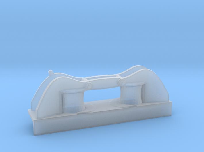 1/100 DKM Side Big Roller Fairlead 3d printed