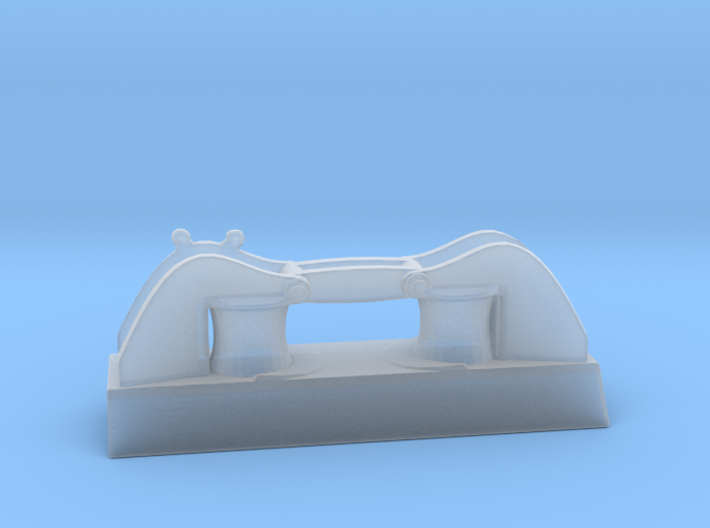 1/96 DKM Side Small Roller Fairlead  3d printed