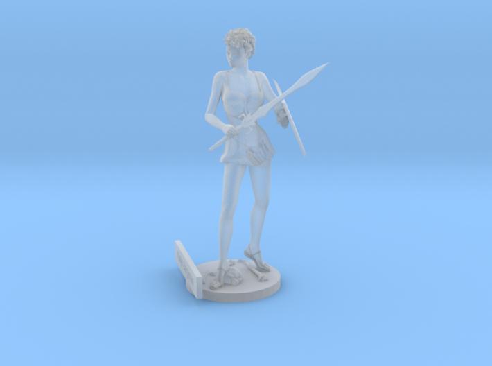 Katja Bergman Figurine 3d printed
