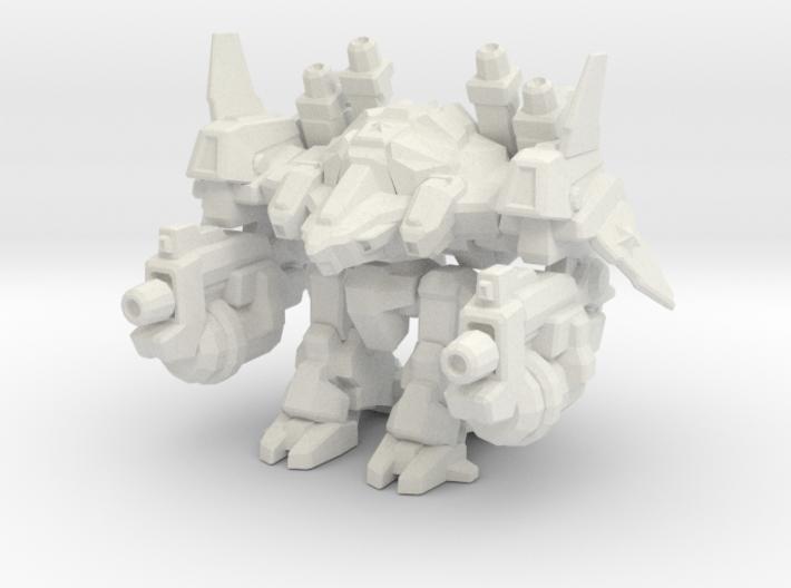 1/700 Terran Odin 3d printed