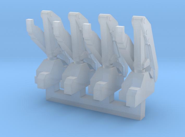 Hiab Hoist 1-400 4 Pack 3d printed