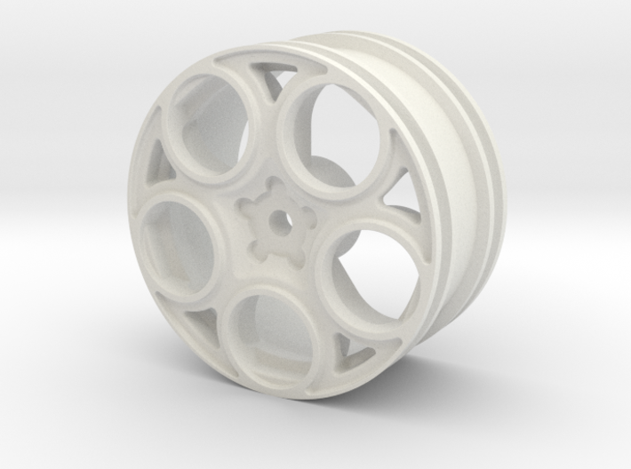 2002 Alfa Romeo 147 GTA 1/10 RC wheel 3d printed