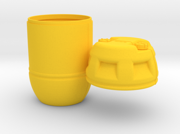 1-6 Shark Hunter Barrel 3d printed