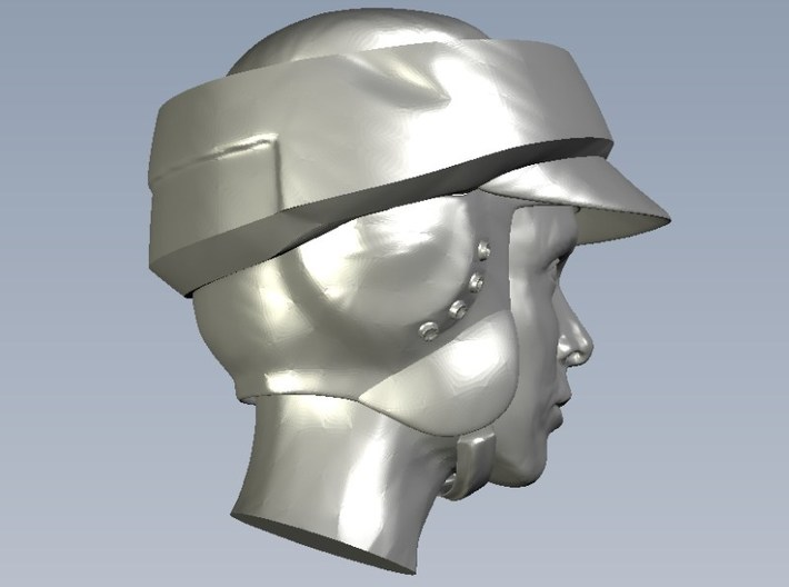 1/72 scale Star Wars rebel trooper heads x 10 3d printed