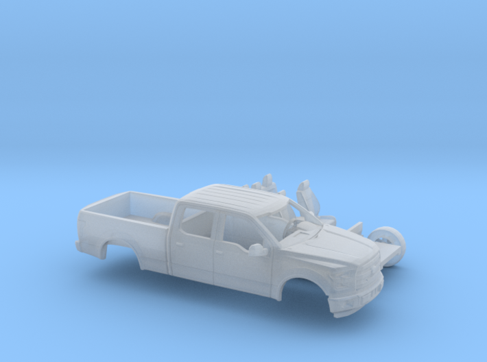 1/87 2014-17 Ford F-150 Long Bed Two Piece Kit 3d printed