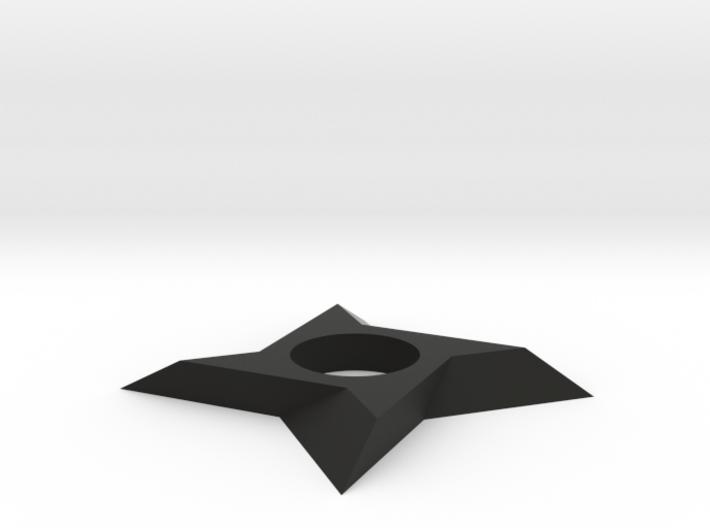 Shuriken Spinner 3d printed