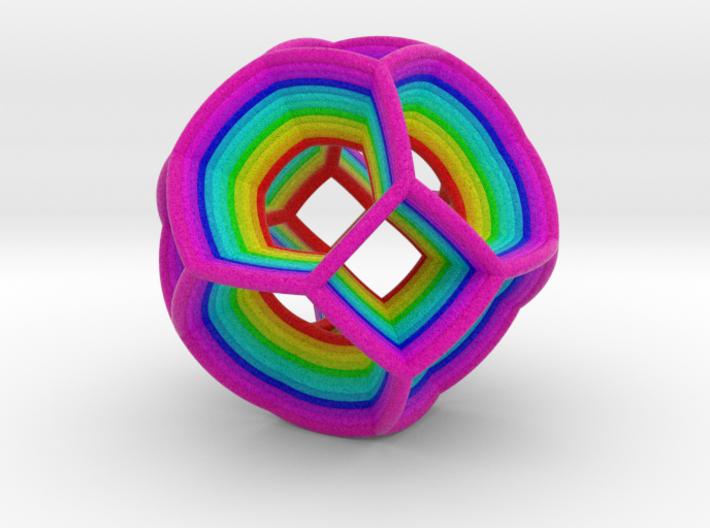 0412 Spherical Truncated Octahedron (d=6cm) #004 3d printed